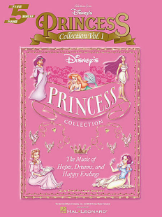 Disney's Princess Book I for piano and voice