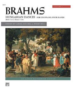 Brahms Hungarian Dances piano duets book