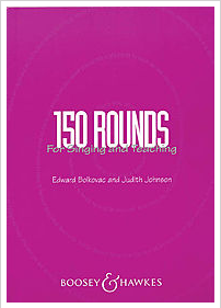 150 Rounds for singers music book