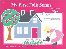 Folk songs for beginners music book