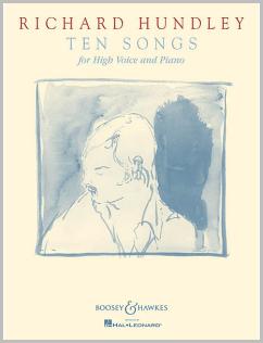 Ten Songs by Richard Hundley music book