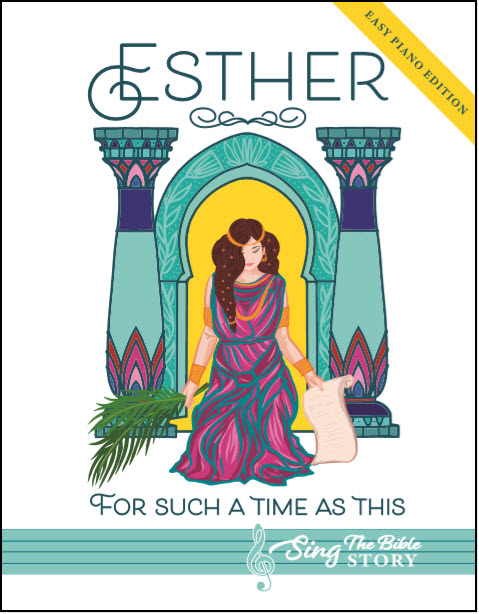 Esther book, EASY PIANO EDITION