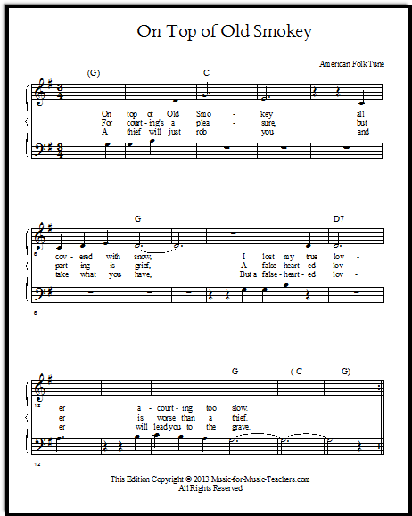 Jingle bells chords and lyrics guitar