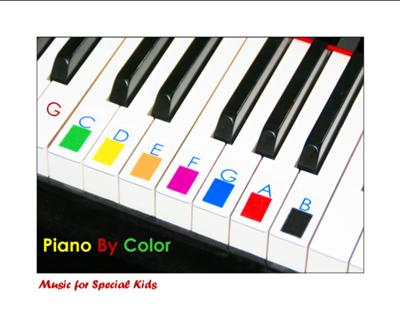 Piano by Color