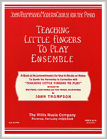 John thompson teaching little fingers to play piano book