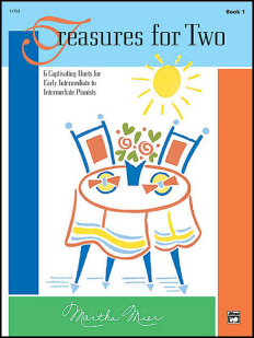Treasures for Two Piano duet sheet music