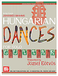 Classical guitar solos Hungarian Dances