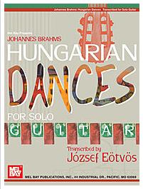 Classical guitar solos Hungarian Dances