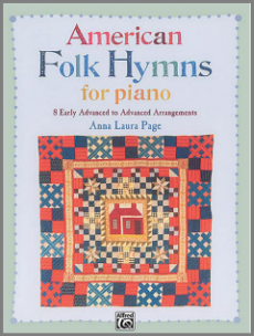 American Folk Hymns for Piano music book