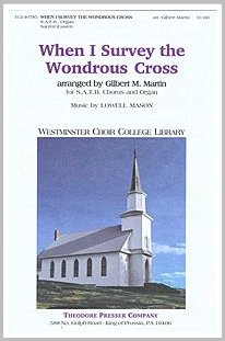 Choral sheetmusic When I Survey the Wondrous Cross