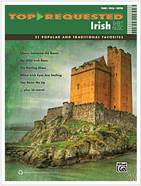 Top Requested Irish Sheet Music book