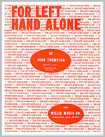 For Left Hand Alone sheetmusic