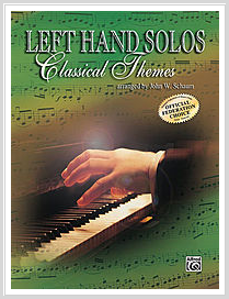 Left Hand Solos: Classical Themes