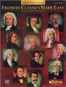 Favorite Classics Made Easy for piano