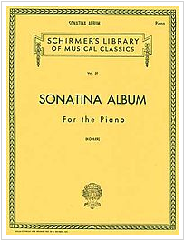 Schirmer's Sonatina Album for piano - a wonderful early classical book!