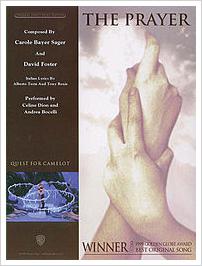 The Prayer sheetmusic