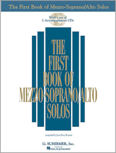 First Book of MezzoSoprano Alto Solos