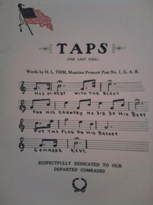 Taps lyrics by H.L. Trim
