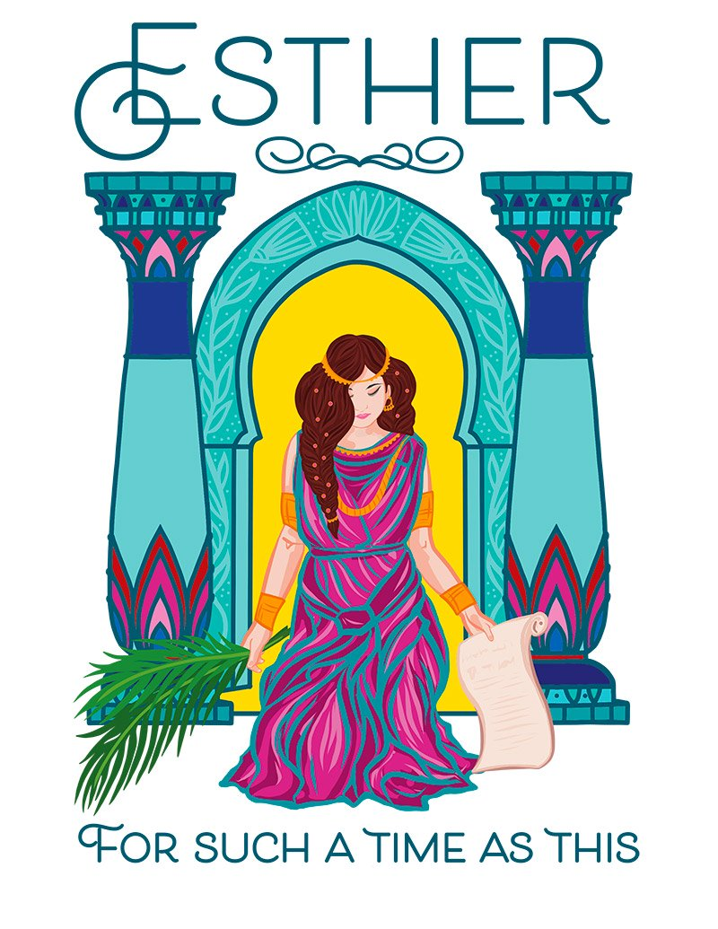 Queen Esther in the Bible - a mini-opera/musical song book for voice & piano about the brave young woman who risked her life to save her people! With drama and humor.