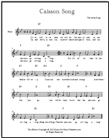 The Army Theme - also called