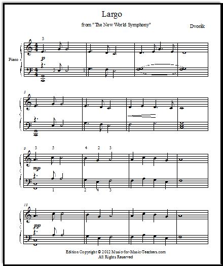 Dvorak's New World Symphony