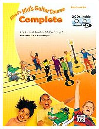 Alfred's Complete Beginner Guitar Course for Kids
