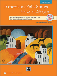 American Folk Songs for Solo Singers music book