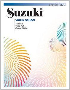 Suzuki violin volume 1