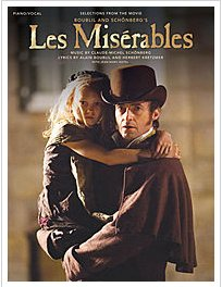 Les Miserables movie sheetmusic
