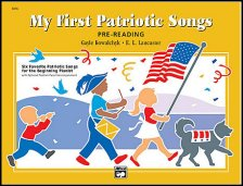 Patriotic songs for beginning piano