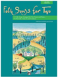 Vocal book Folk Songs for Two
