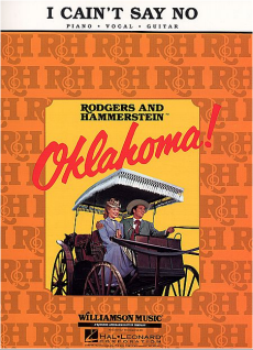 I Cain't Say No from Oklahoma sheet music for singers
