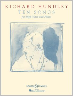 Ten Songs by Richard Hundley music book