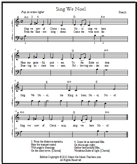Middle C version of