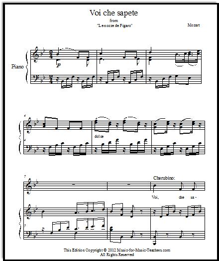 The Marriage of Figaro (Le nozze de Figaro)